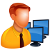72x72px size png icon of Admin