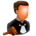 72x72px size png icon of Judge