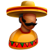 72x72px size png icon of Mexican Boss