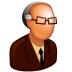 72x72px size png icon of Old Boss