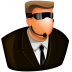72x72px size png icon of Security Guard