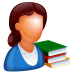 72x72px size png icon of Teacher