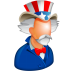 72x72px size png icon of Uncle Sam