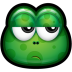 72x72px size png icon of Green Monster 24