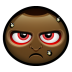 72x72px size png icon of angry man