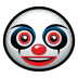 72x72px size png icon of clown