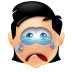 72x72px size png icon of Boy Cry