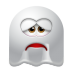 72x72px size png icon of Ghost Sad