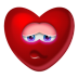 72x72px size png icon of Heart Shy