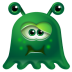 72x72px size png icon of Monster Sick