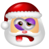 72x72px size png icon of Santa Claus Beaten