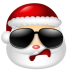 72x72px size png icon of Santa Claus Cool