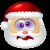 72x72px size png icon of Santa Claus Dizzy