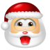 72x72px size png icon of Santa Claus Impish