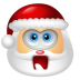 72x72px size png icon of Santa Claus Shock