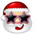 72x72px size png icon of Santa Claus Stars