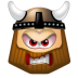 72x72px size png icon of Viking Angry