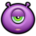 72x72px size png icon of Alien indifferent