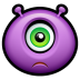 72x72px size png icon of Alien sad