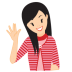 72x72px size png icon of girl swear