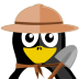 72x72px size png icon of Archaeologist Tux