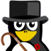 72x72px size png icon of British Tux