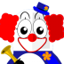 72x72px size png icon of Clown Tux