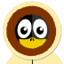 72x72px size png icon of Inuit Tux