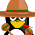 72x72px size png icon of Mexican Tux