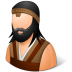 72x72px size png icon of Historical Barbarian Male