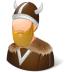 72x72px size png icon of Historical Viking Male