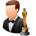 72x72px size png icon of Occupations Actor Male Light