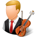 72x72px size png icon of Occupations Musician Male Light