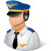 72x72px size png icon of Occupations Pilot Male Light