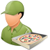72x72px size png icon of Occupations Pizza Deliveryman Male Light