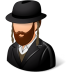 72x72px size png icon of Religions Jew Male