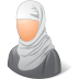 72x72px size png icon of Religions Muslim Female