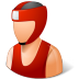 72x72px size png icon of Sport Boxer Male Light