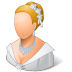 72x72px size png icon of Wedding Bride Light