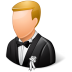 72x72px size png icon of Wedding Groom Light