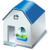 72x72px size png icon of One storied house