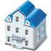 72x72px size png icon of Two storied house