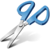 72x72px size png icon of scissors