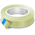 72x72px size png icon of sticky tape