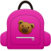 72x72px size png icon of Schoolbag girl