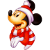 72x72px size png icon of Mickey Christmas