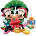 72x72px size png icon of Mickey Mouse Christmas