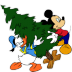 72x72px size png icon of Mickey Mouse Donald Christmas