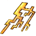 72x72px size png icon of Ele thunder
