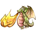 72x72px size png icon of Fire Dragon